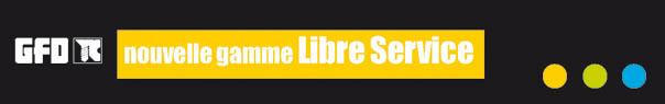 nouveau... la gamme Libre service GFD